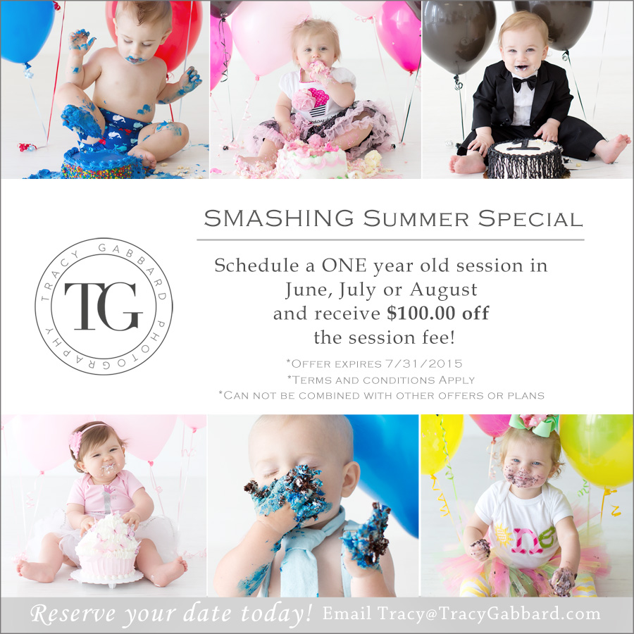 Photo of Smashing Summer Special for Smash Cake Photography