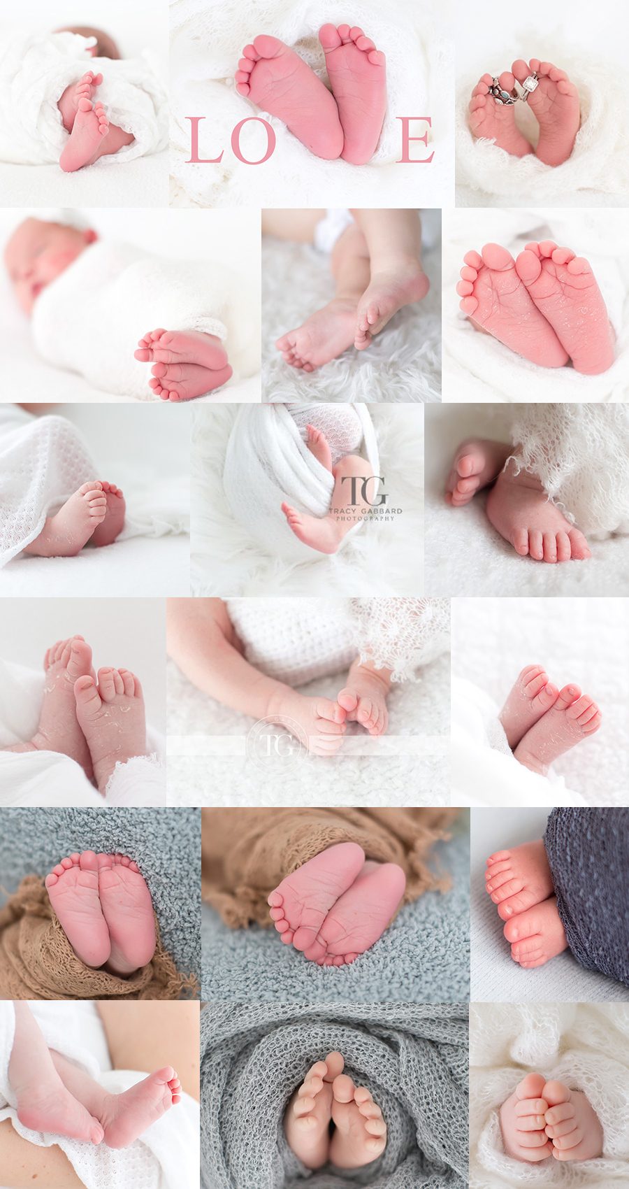 Small, Sweet, Tiny Little Baby Feet - Newborn Photography