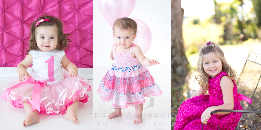 """Pretty in Pink"" Child Photography Tampa"