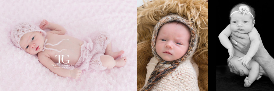Awake Newborns - Tracy Gabbard Photography