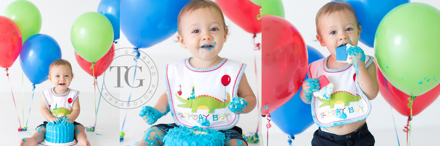 First Birthday Smash Cake Photo Sessions