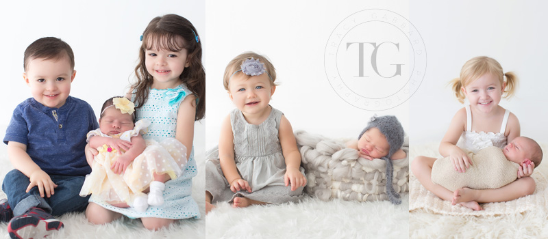 Newborns and their big brothers and sisters TracyGabbard.com
