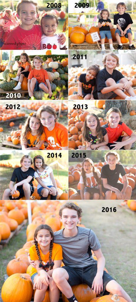Pumpkin Day - Pumpkin patch collage