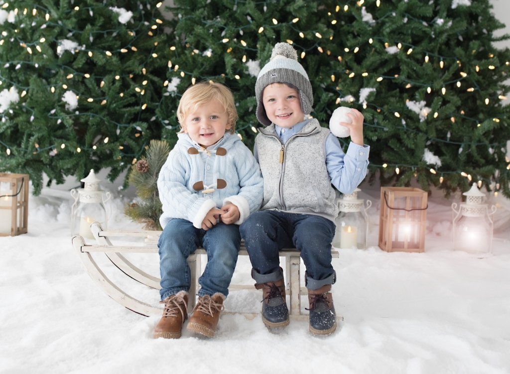 Holiday Pictures - Holiday Session 2019 - Snowball Session
